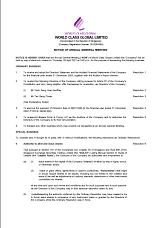 Notice of AGM 2020