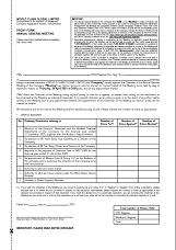 Proxy form - AGM 2020